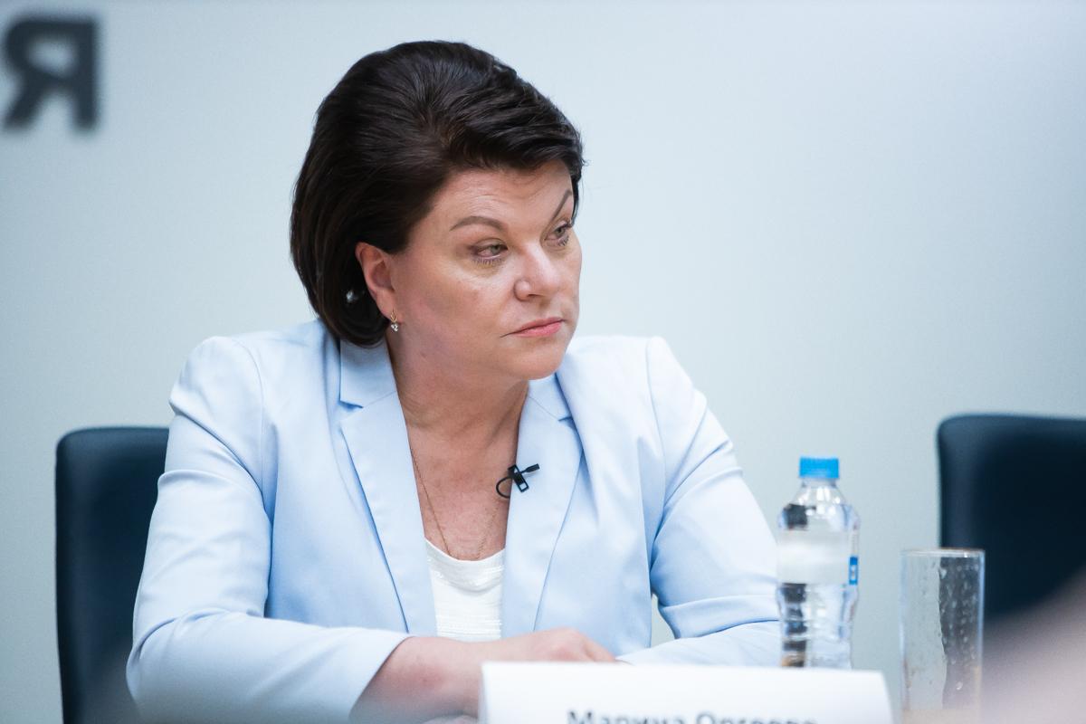 председатель Калининградской областной думы Марина Оргеева