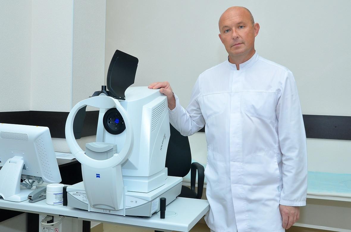 Офтальмохирург Николай Зубарев