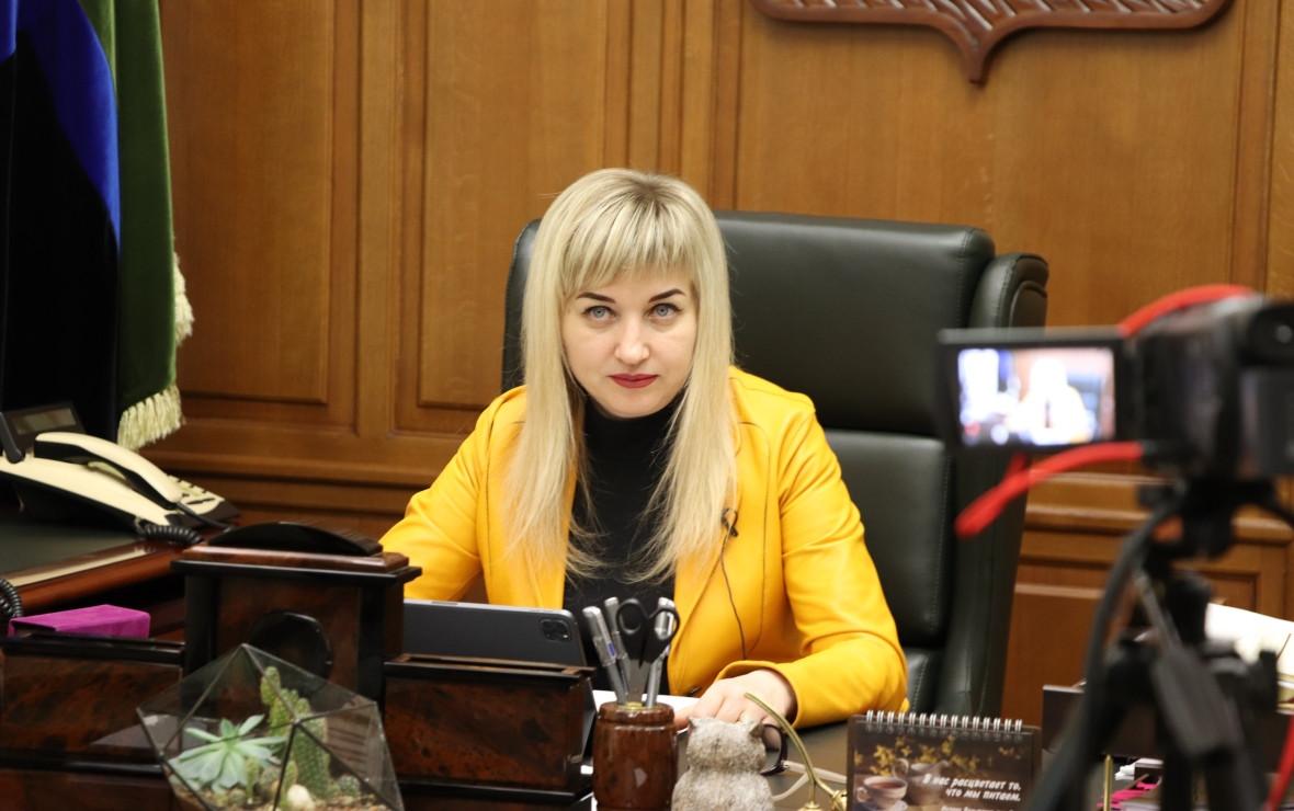 Ольга Павлова (Фото: пресс-служба Белгородской областной Думы)