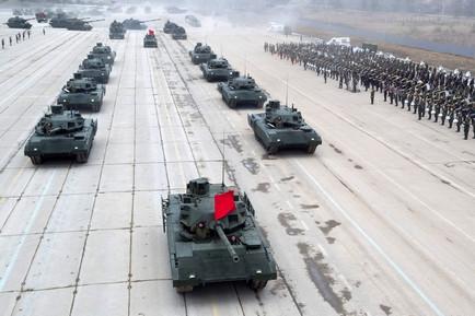 Танк на платформе «Армата» разрабатывался с учетом экспортного потенциала российской бронетехники