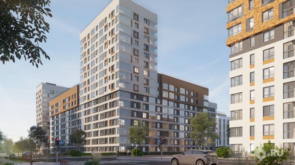 Так будет выглядеть дом на Лучистой улице. Первую очередь строители сдадут в IV квартале 2021 года.