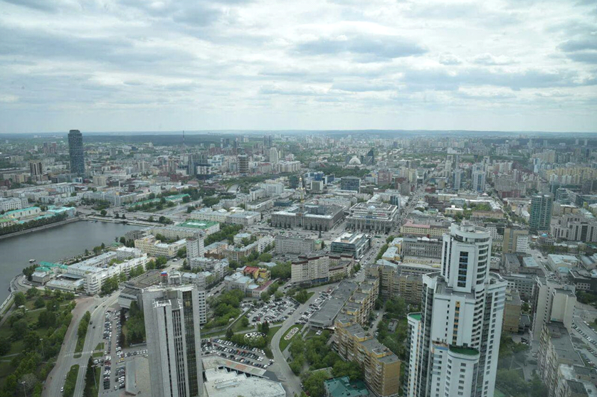 Здание находится на улице Бориса Ельцина.