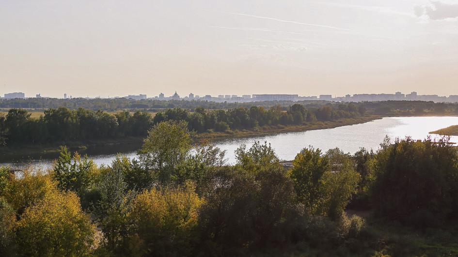 Виды на Стадион и микрорайон «Мещерское озеро»  из окон будущих квартир ЖК «Сергиевская Слобода»