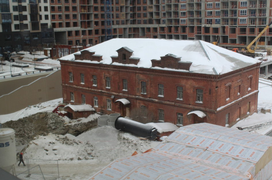 Здание лаборатории до реставрации. Фото: предоставлено партнером публикации