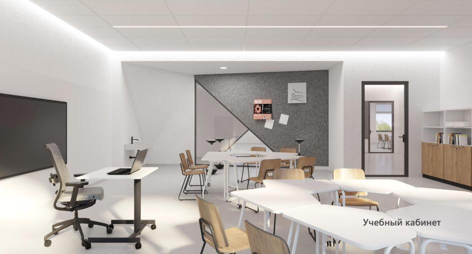 Учебный кабинет \ Фото: «Партнер-Строй»
