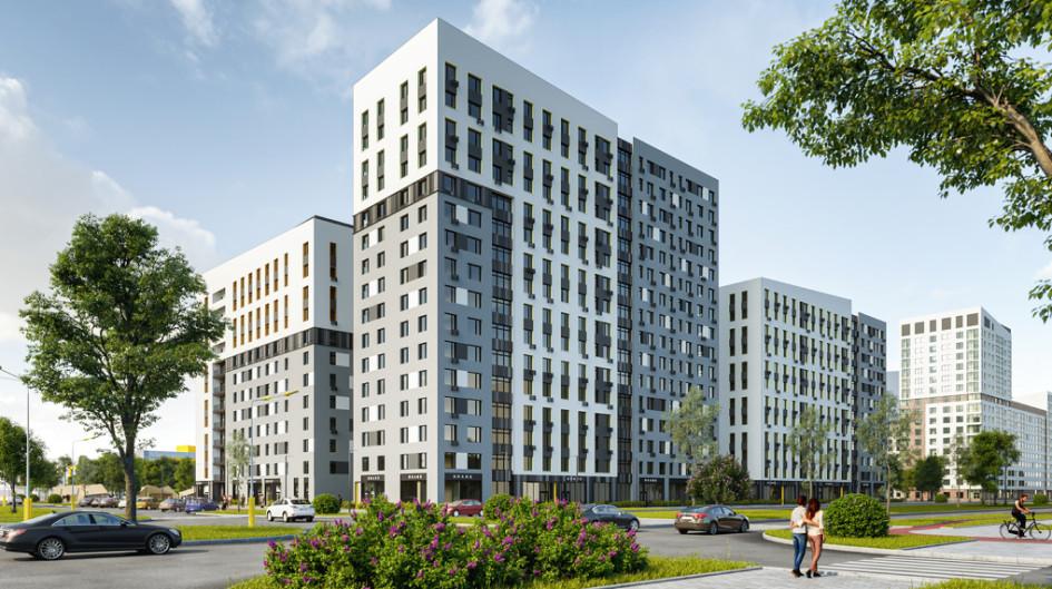 В первую очередь дома на Аллее жильцы въедут в IV квартале 2022 года.