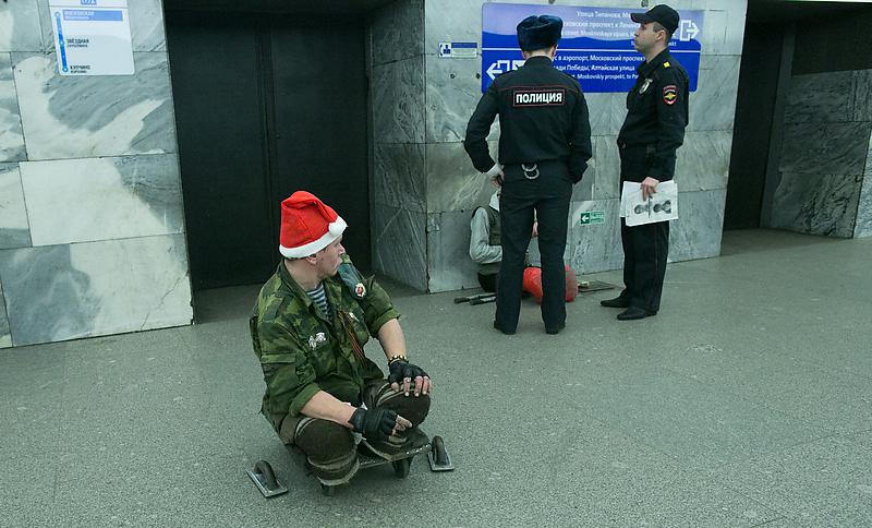 В Петербурге вводят штрафы для гадалок и попрошаек