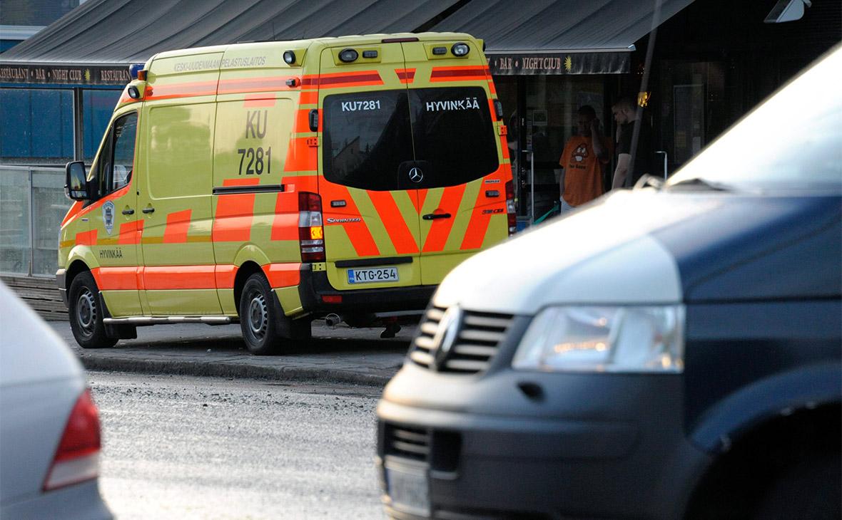 Автомобиль въехал в толпу в центре Хельсинки