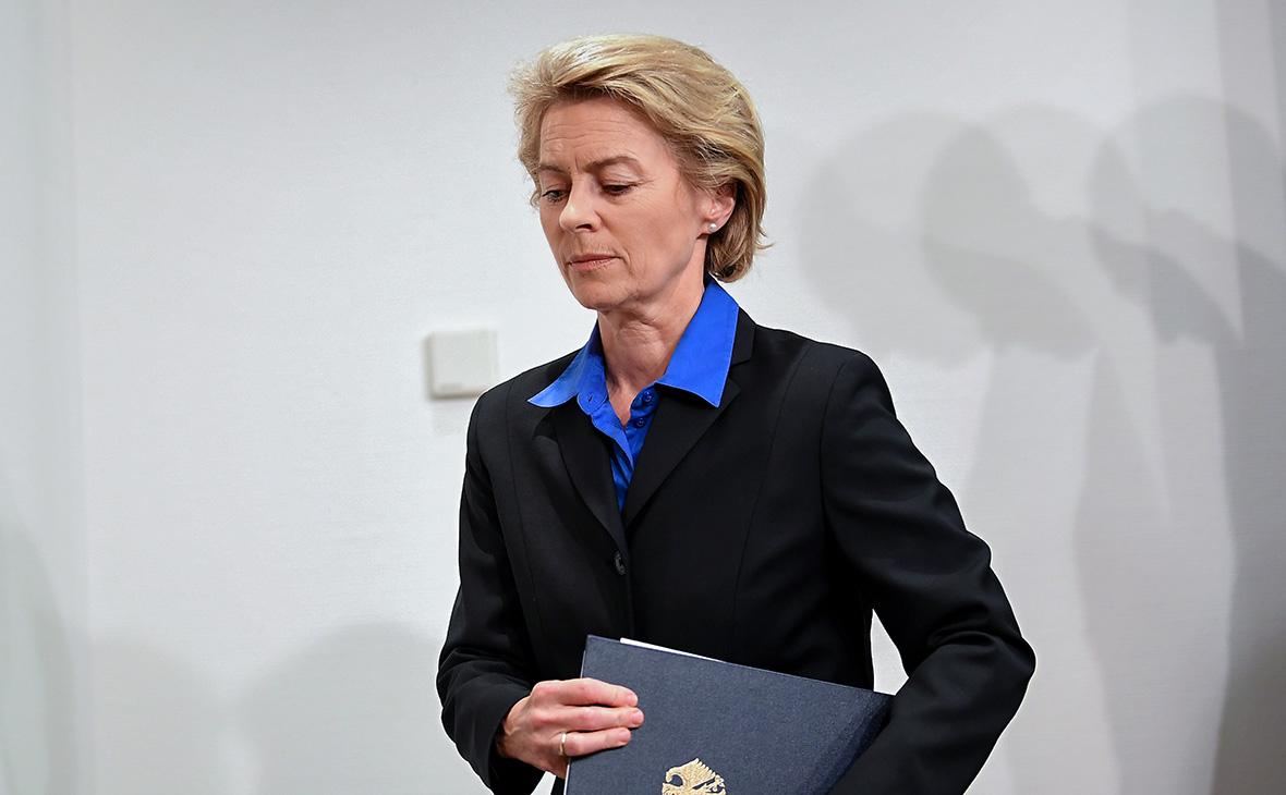 Spiegel узнал о расследовании в отношении министра обороны Германии