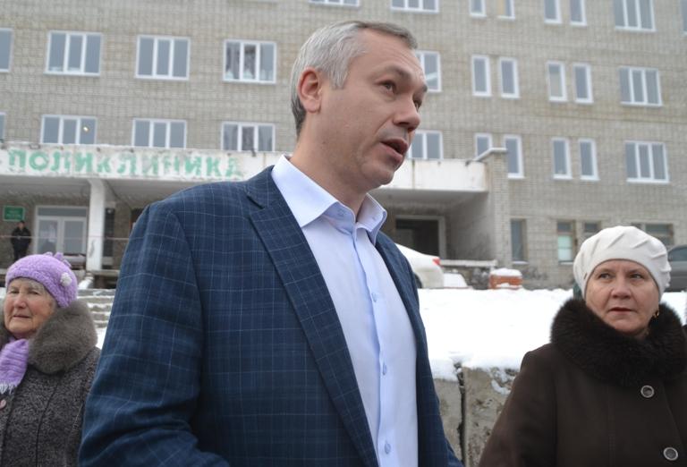 Врио губернатора Травников хочет подать в суд из-за строительства высотки