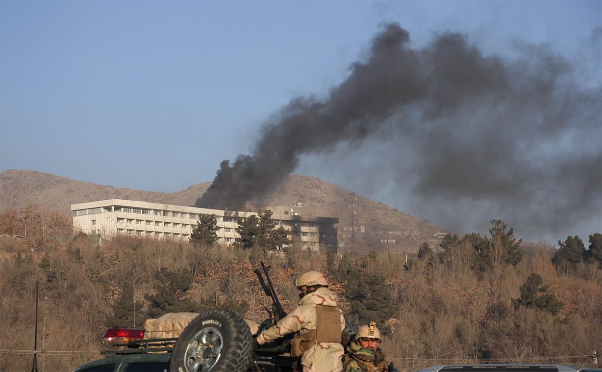 Силовики заявили о ликвидации захвативших отель в Кабуле боевиков
