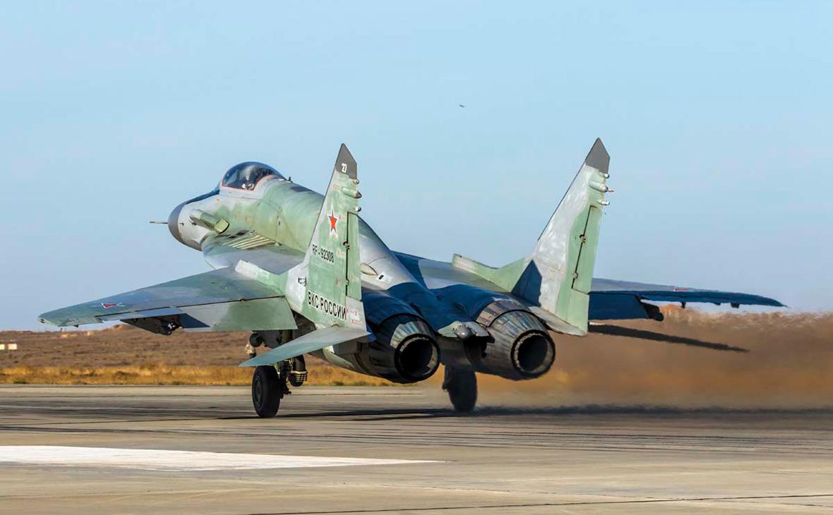 Посольство России сообщило о получении Сирией партии истребителей МиГ-29