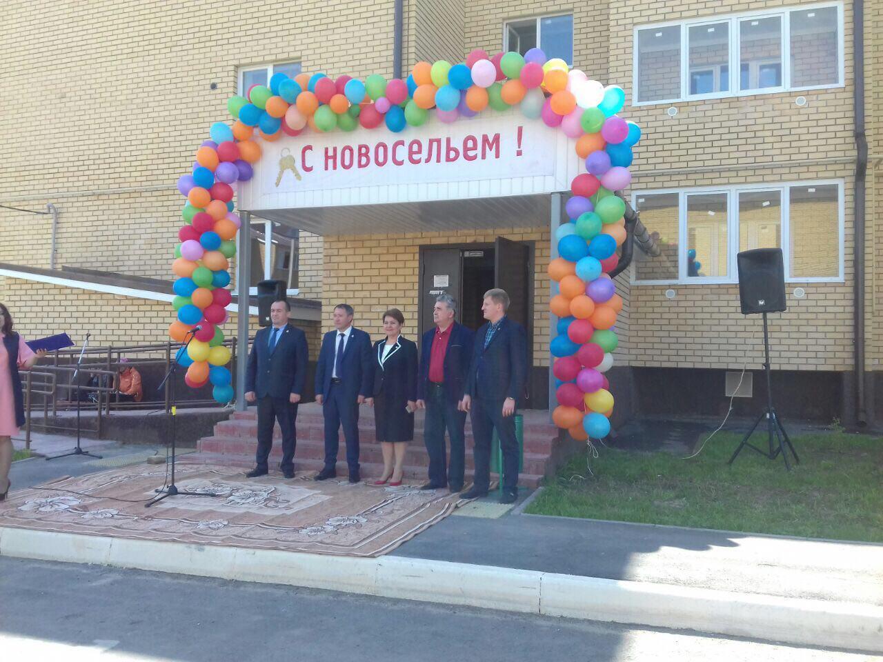 Госжилфонд передал 21 квартиру «аварийщикам» Пестречинского района