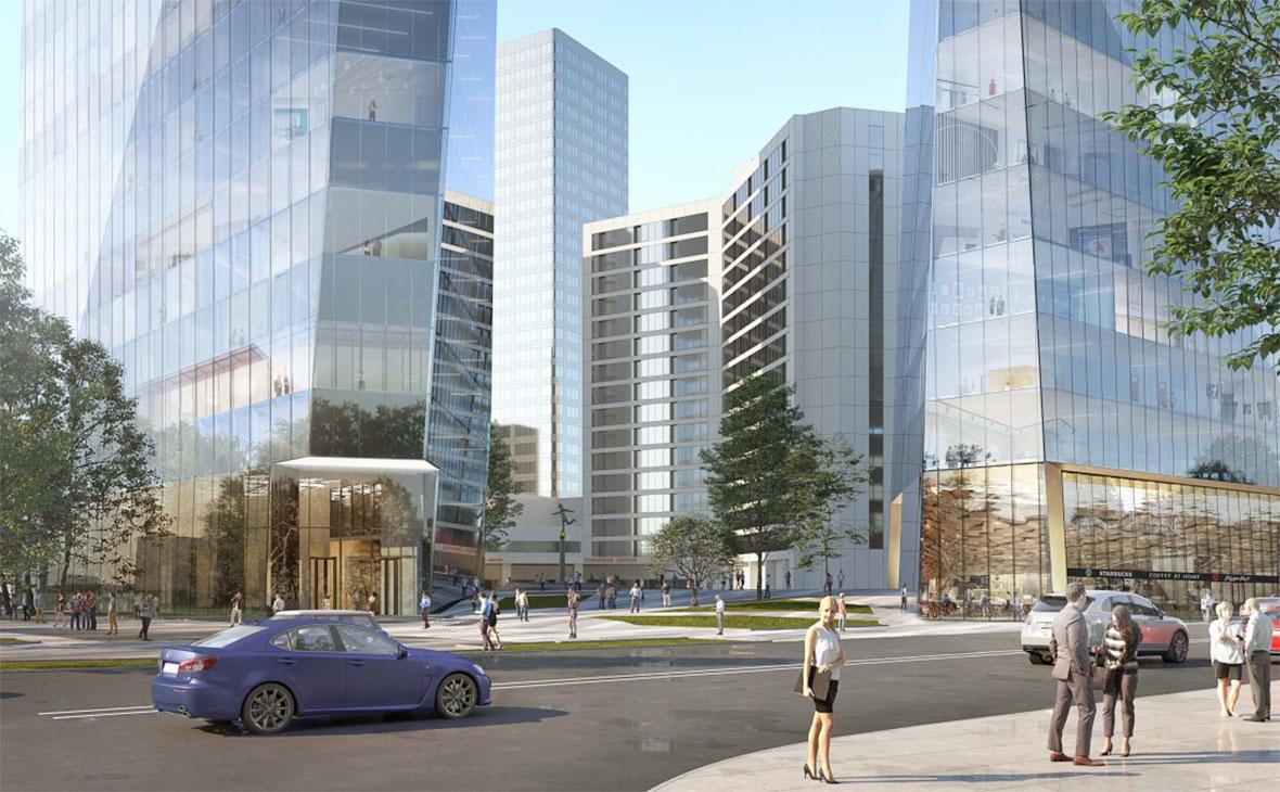 В Москве одобрили проект строительства небоскреба высотой 200 м