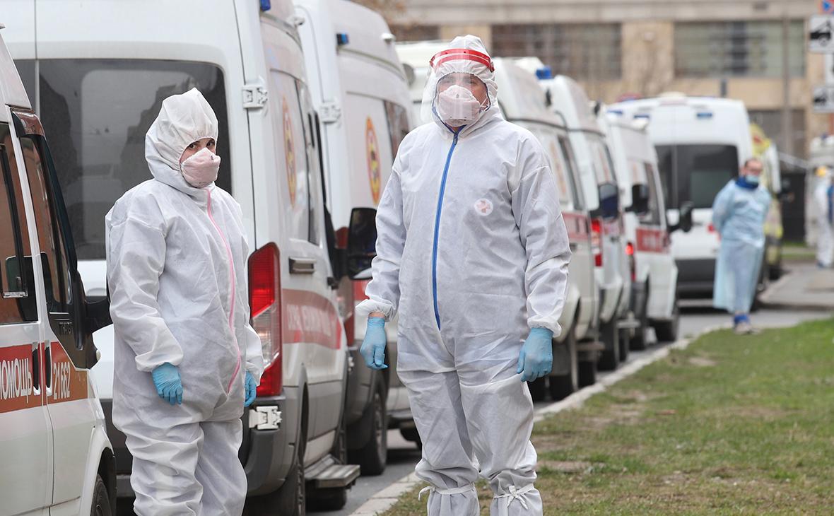 В России за сутки зафиксировали 8,9 тыс. новых зараженных коронавирусом