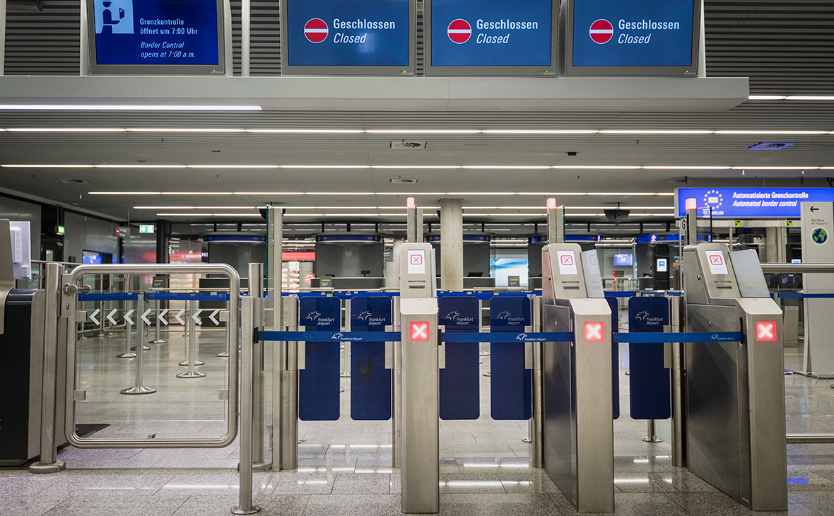 СМИ узнали о решении Германии закрыть границы из-за коронавируса