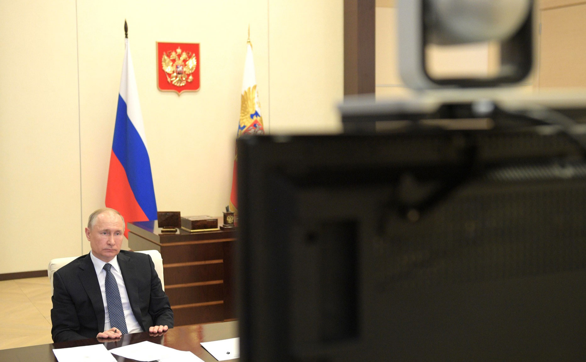 Путин описал ситуацию с коронавирусом фразой «Вся страна— вирусологи»