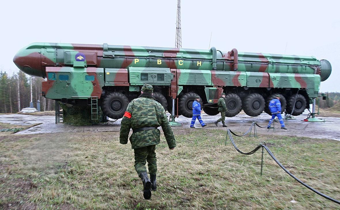 Россия запустила четыре баллистические ракеты во время военных учений