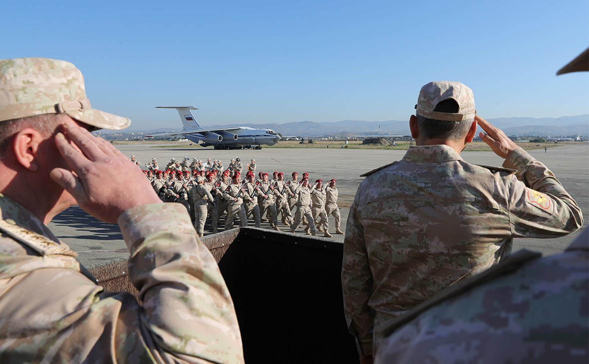 Российскую военную группировку сократят на две трети