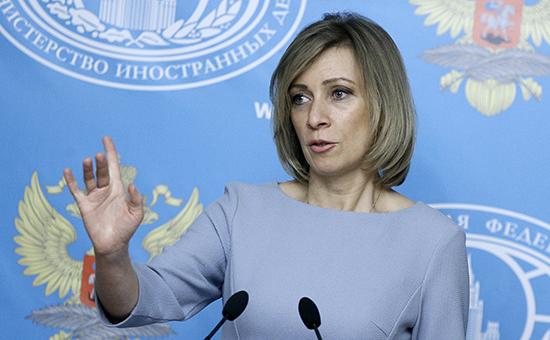 Захарова рассказала о«российском дипломате» издоклада BuzzFeed