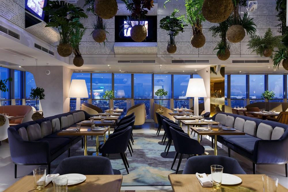 41 этаж ресторан фото