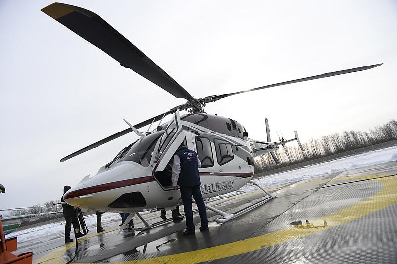 В Петербурге появится крупнейшая в России медицинская авиабаза