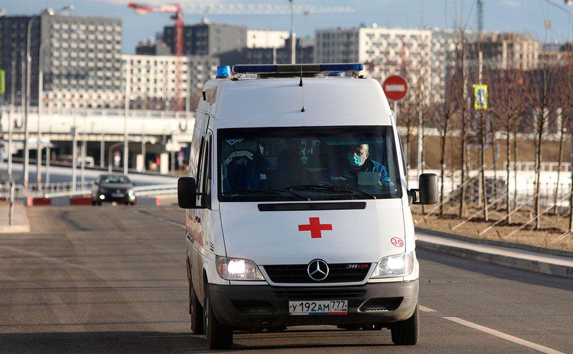 Неизвестный в медицинской маске обстрелял прохожего в Новой Москве