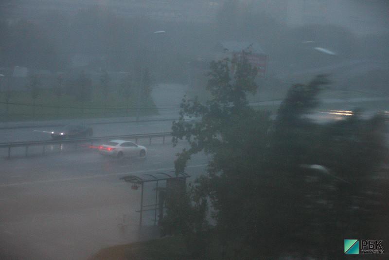 Гроза и штормовой ветер вернутся в Татарстан к выходным