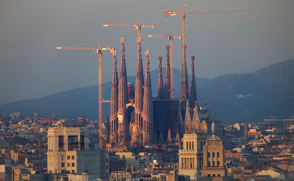 СМИ назвали собор Саграда-Фамилия целью террористов в Барселоне