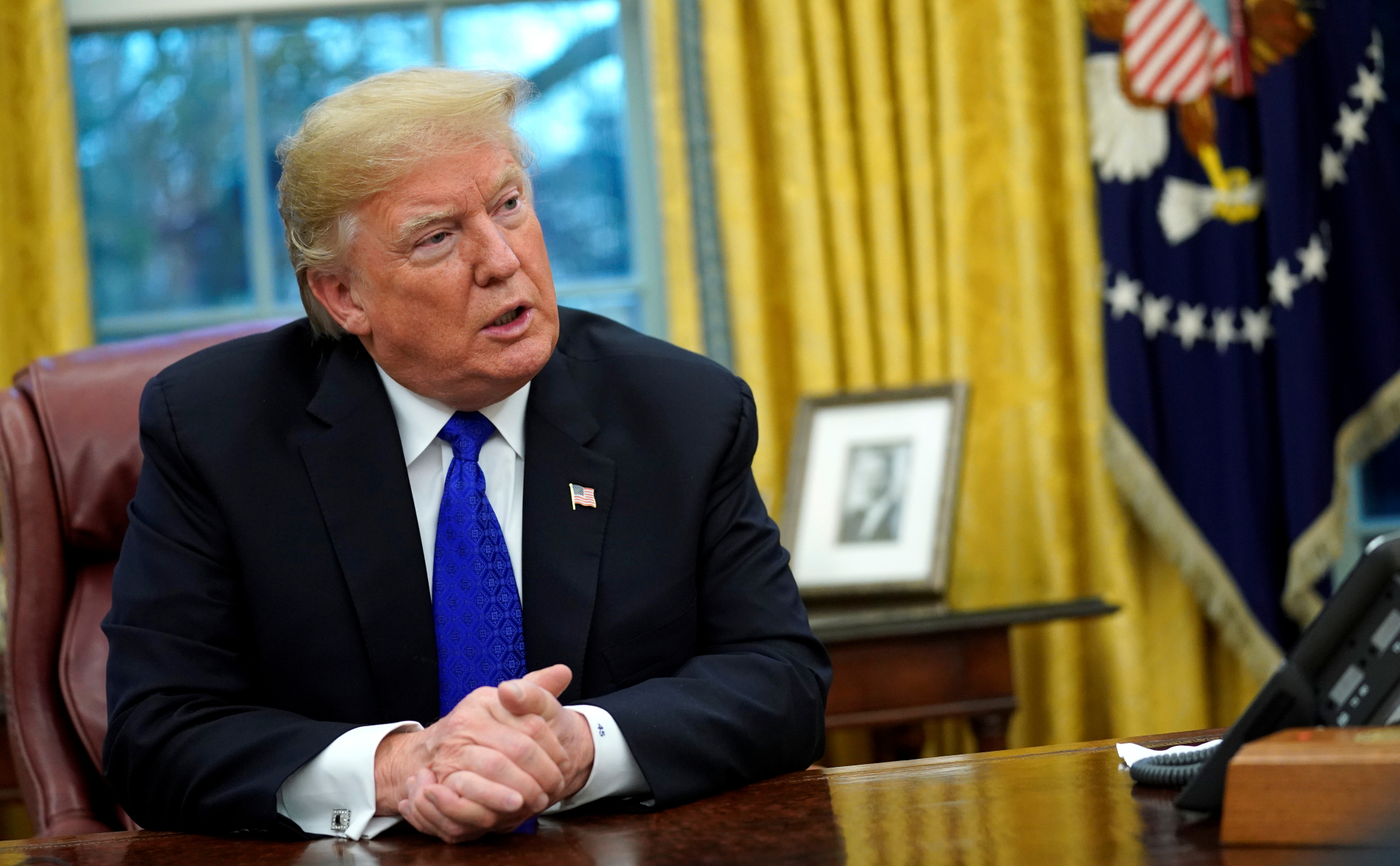 Трамп предсказал бунты в случае своего импичмента