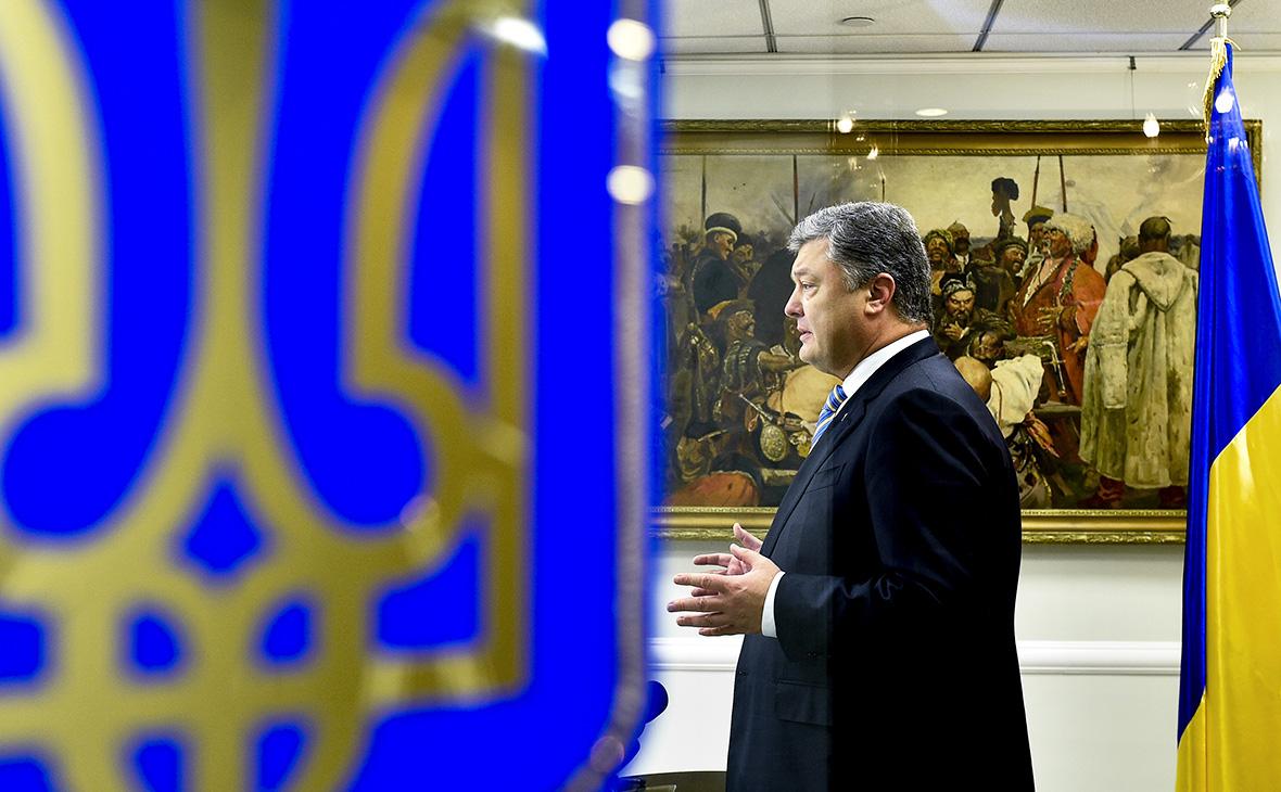 О доверии Порошенко заявили четверть граждан Украины