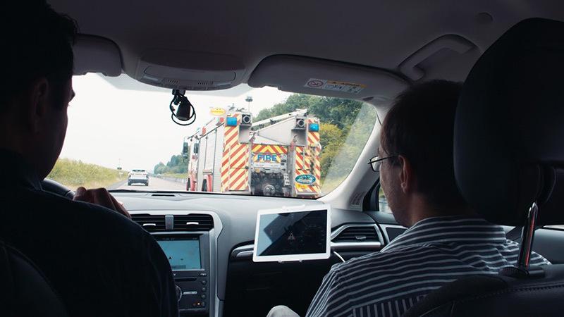 Ford разработал технологию безопасности для машин экстренных служб