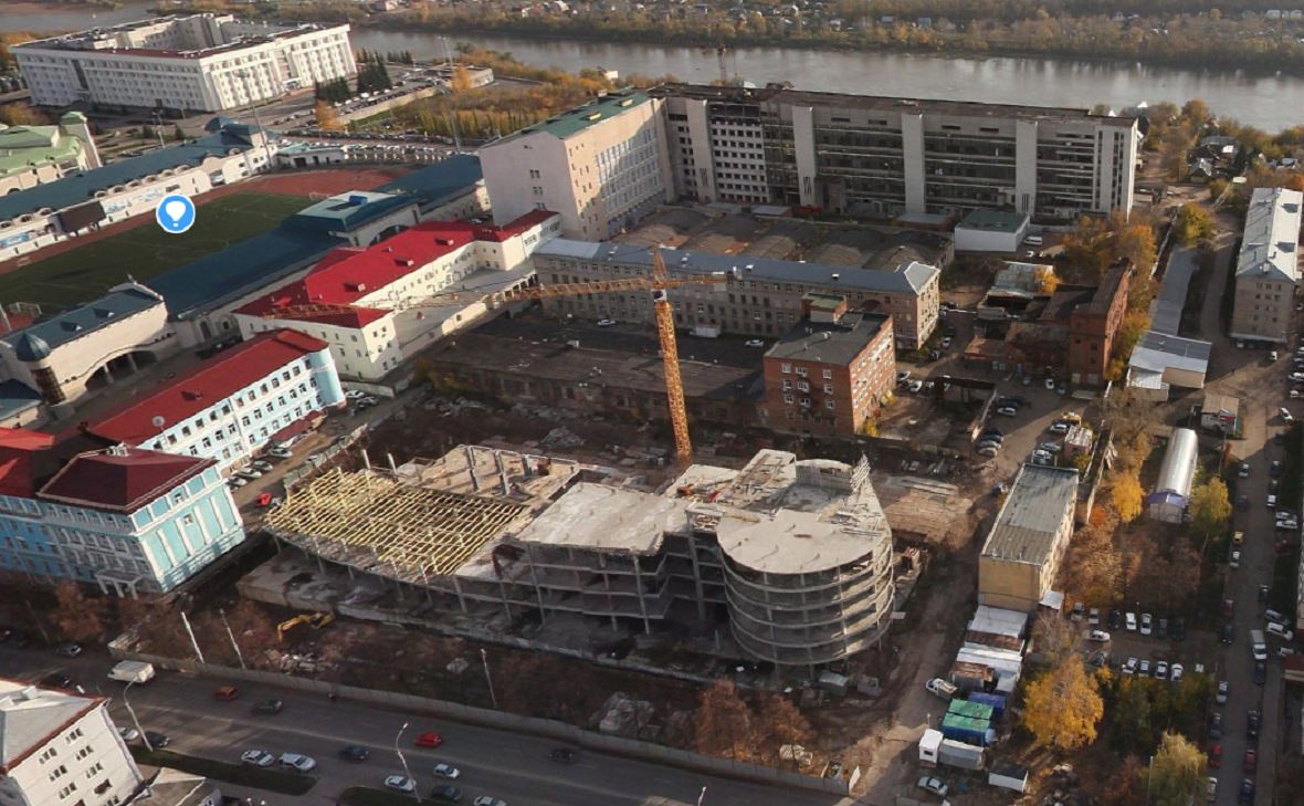 В центре Уфы создадут новый правительственный комплекс и технополис