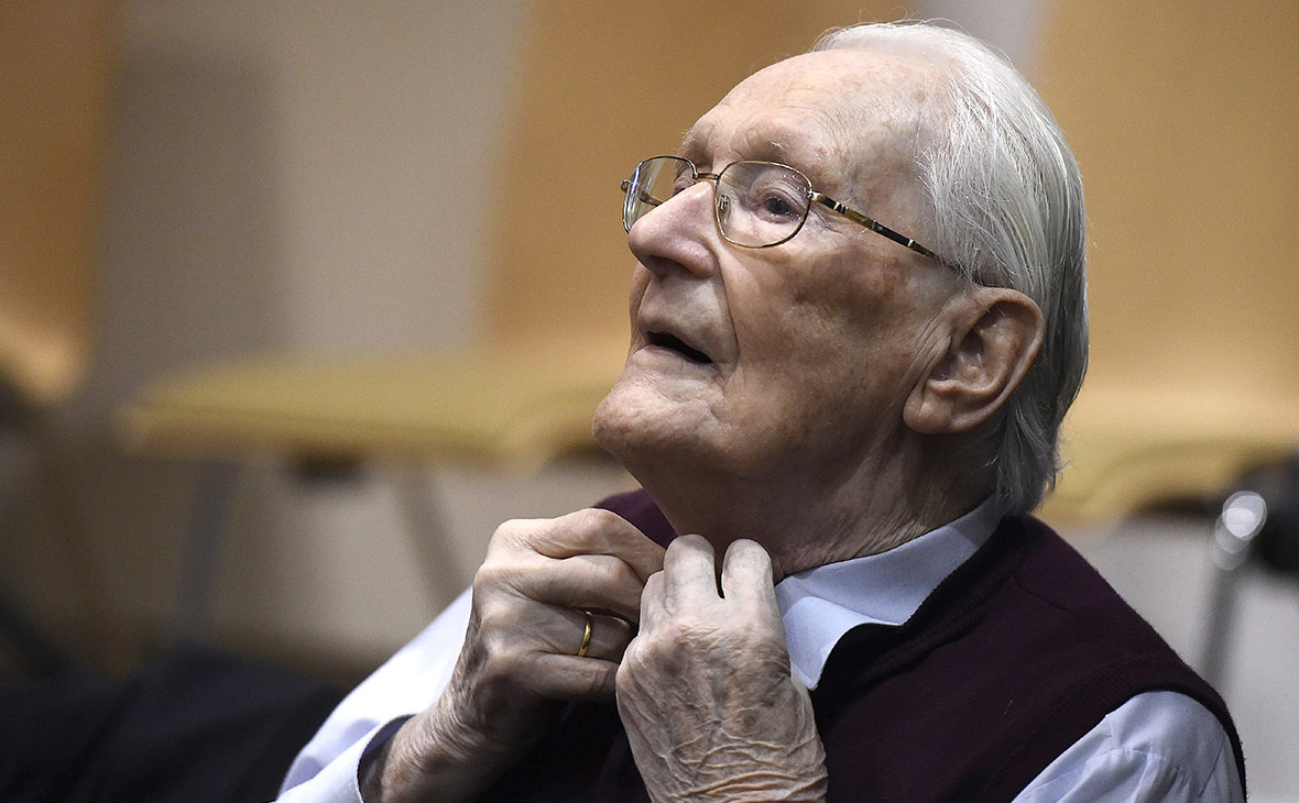 «Бухгалтер Освенцима» подал просьбу о помиловании