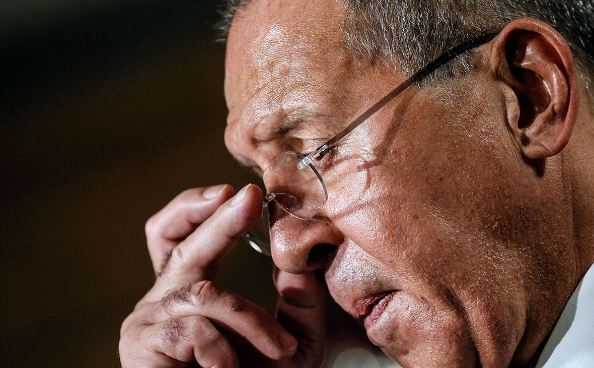 Лавров жестко ограничил рамки полномочий миротворцев в Донбассе