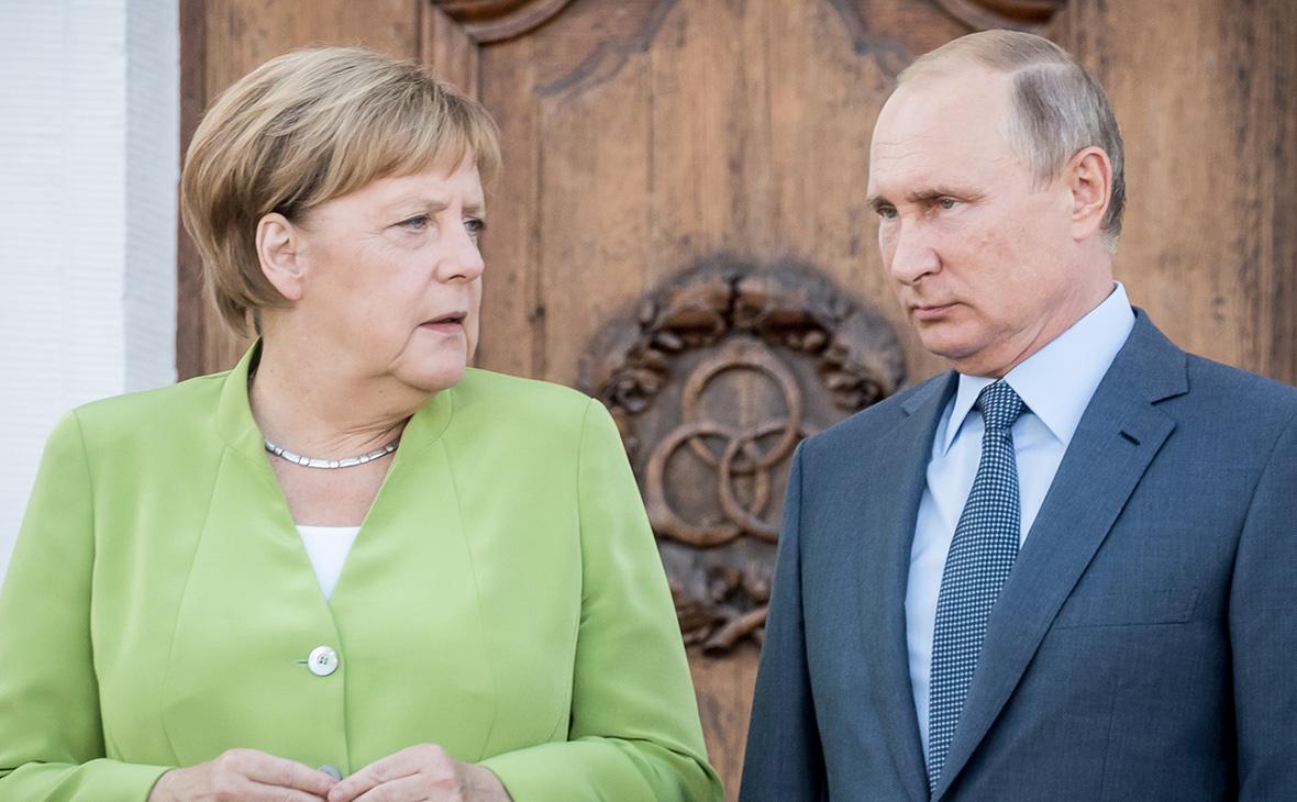 Путин и Меркель оценили роль Украины после запуска «Северного потока-2»