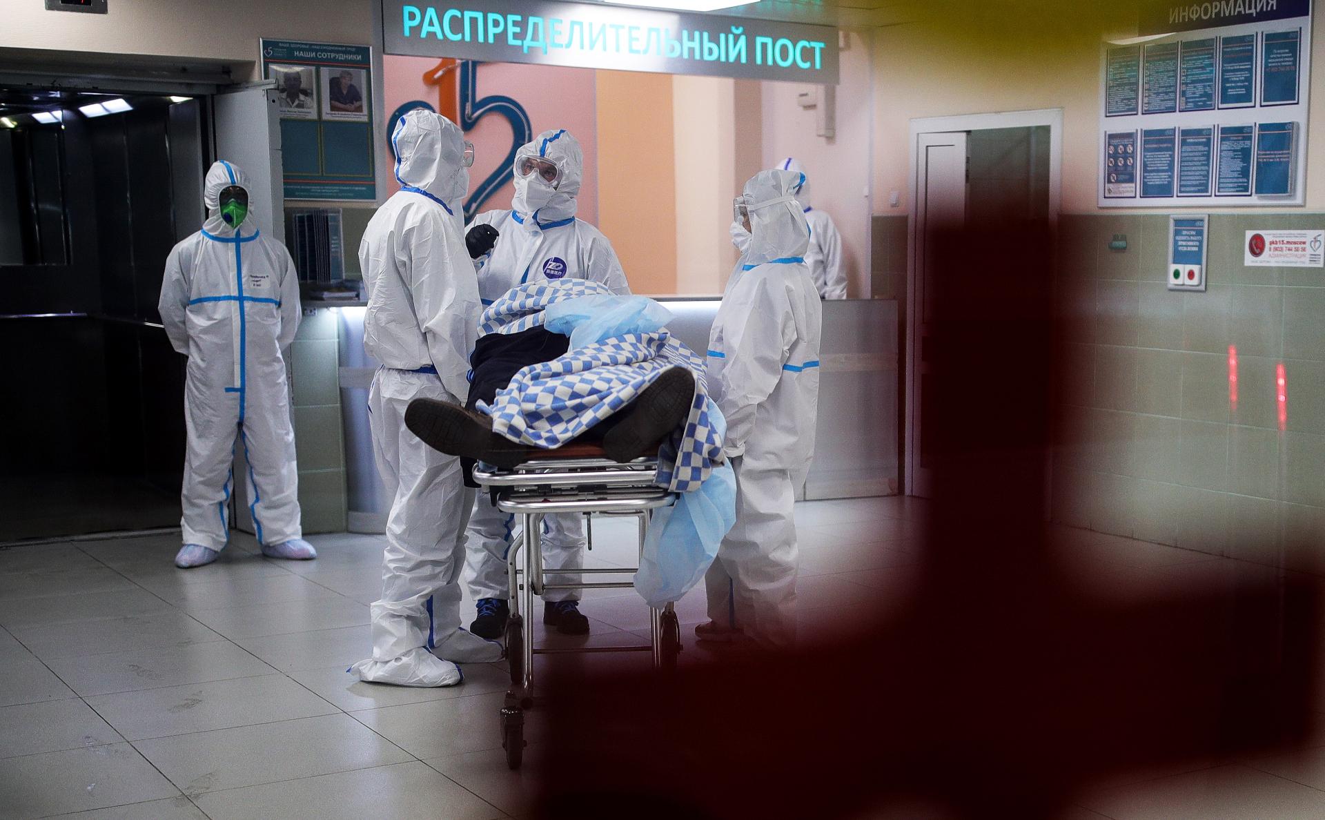 Число смертей от коронавируса в России превысило 5 тыс.