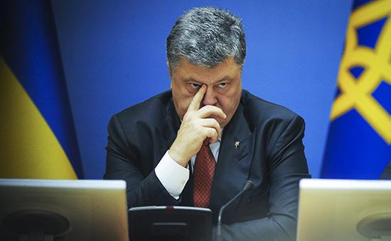 Порошенко признал полную потерю контроля надДонбассом