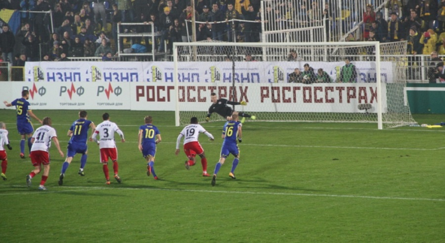 «Амкар» и «Ростов» разошлись по нолям