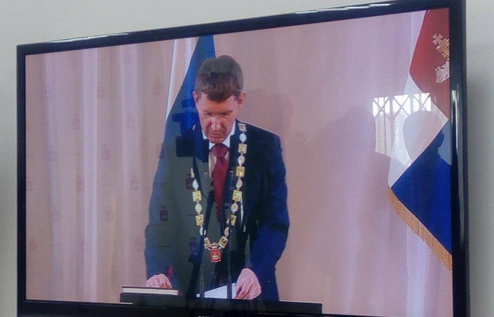 Губернатор Прикамья сегодня официально вступил в должность