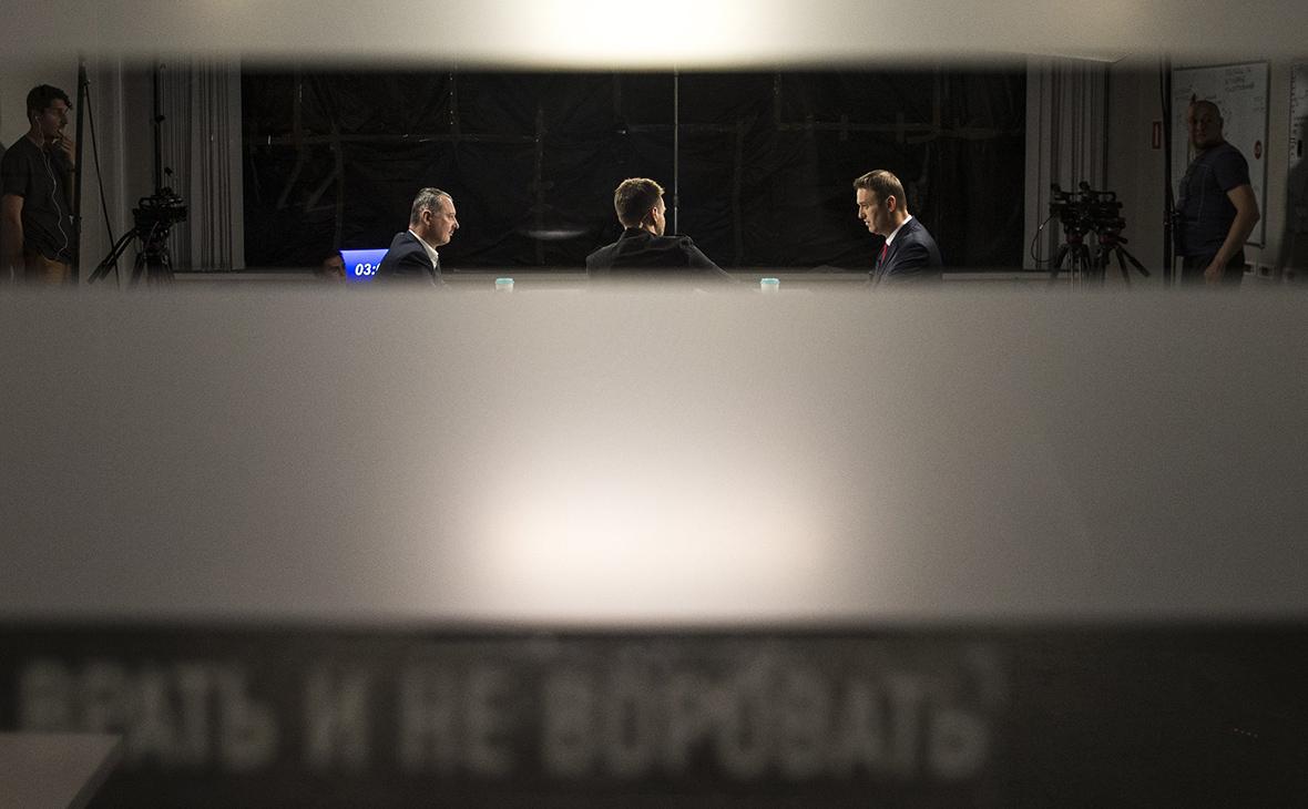 Навальный и Стрелков подвели итоги дебатов