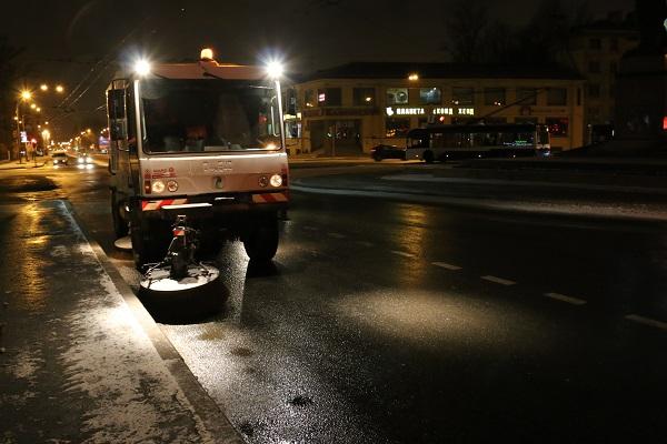 МЧС предупреждает петербургских водителей об изменении погоды