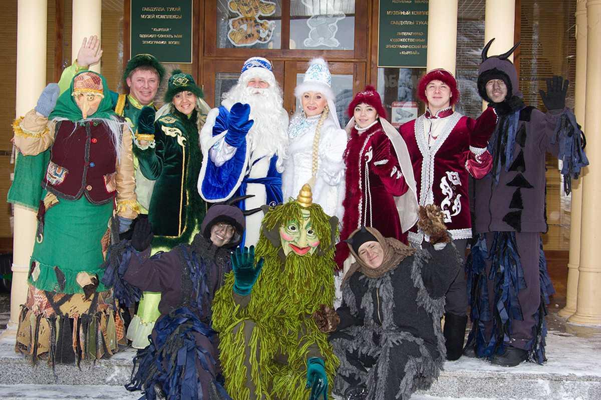 Кыш Бабай впервые поборется за звание лучшего Деда Мороза России