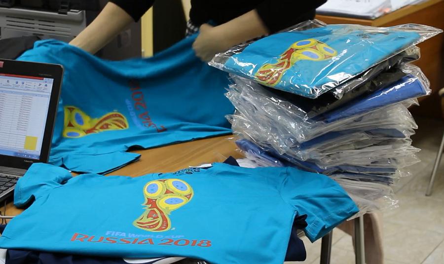 В Перми обнаружили незаконное использование символики FIFA