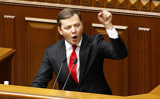 Ляшко потребовал сдачи мандата отпредложившего «мирный план» депутата