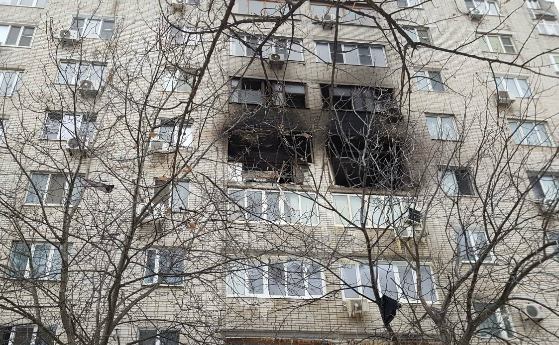 В пострадавшем от взрыва доме в Ростове нашли дефект газовой плиты