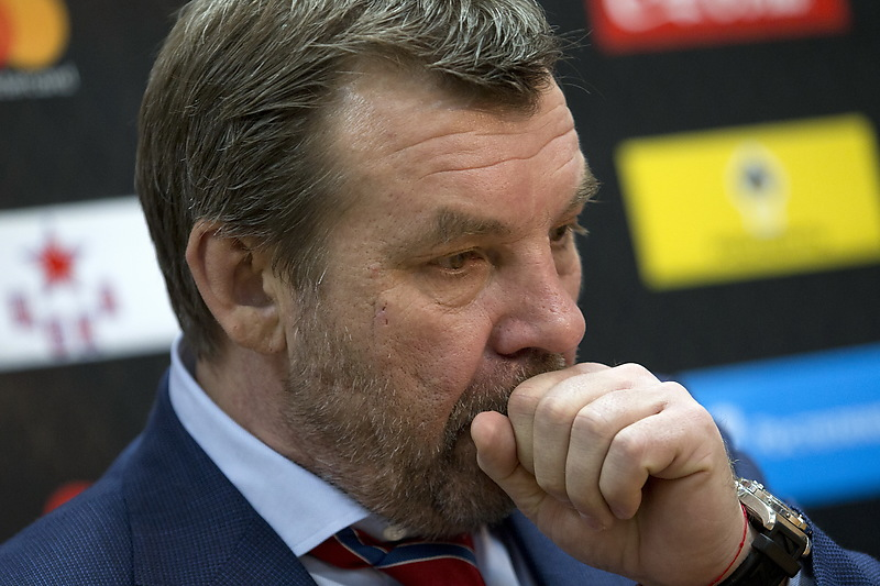 СМИ: Главный тренер петербургского СКА уходит из команды