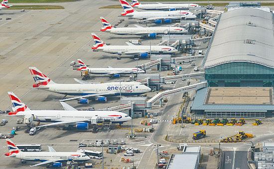 British Airways отменила все рейсы в аэропортах Хитроу и Гатвик