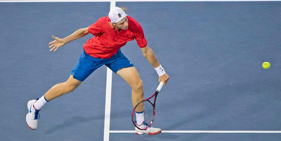 Теннисист Шаповалов стал самым молодым полуфиналистом Masters в истории