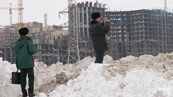 Экологи Татарстана готовятся штрафовать за незаконные свалки снега
